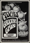 "Movie Posters:Rock and Roll, The Rascals Concert (Bill Graham, 1970). Poster (14"" X 20.5""). Rockand Roll.. ..."