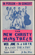 "Movie Posters:Rock and Roll, New Christy Minstrels (Reading Exchange Club, June, 1970). ConcertPoster (14"" X 22""). Rock and Roll.. ..."