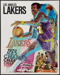 "Movie Posters:Sports, L.A. Lakers & Others Lot (ProMotions Inc, 1972). Posters (4) (23"" X 29"" & 24"" X 36""). Sports.. ... (Total: 4 Items)"
