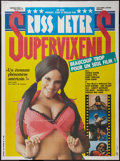 "Movie Posters:Sexploitation, Supervixens (Sinfonia Films, 1975). French Grande (46"" X 62"").Sexploitation.. ..."