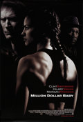 """Movie Posters:Sports, Million Dollar Baby (Warner Brothers, 2004). One Sheet (27"""" X 40"""") DS Advance. Sports.. ..."""