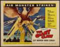 """Movie Posters:Science Fiction, The Giant Claw (Columbia, 1957). Half Sheet (22"""" X 28""""). Style B.Science Fiction.. ..."""