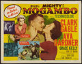 "Movie Posters:Adventure, Mogambo (MGM, 1953). Half Sheet (22"" X 28""). Style A. Adventure....."