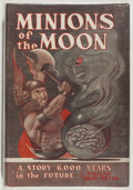 Books:Science Fiction & Fantasy, William Gray Beyer. GNOME PRESS FILE COPY/SIGNED BY GREENBERG. Minions of the Moon. New York: Gnome Press, [1950]. F...