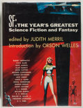 Books:Science Fiction & Fantasy, Judith Merril [editor]. GNOME PRESS FILE COPY/SIGNED BY GREENBERG.SF: The Year's Greatest Science Fiction and Fantasy....