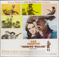 "Movie Posters:Western, Monte Walsh (National General, 1970). Six Sheet (81"" X 81""). Western.. ..."