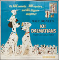 "Movie Posters:Animation, 101 Dalmatians (Buena Vista, R-1969). Six Sheet (81"" X 81""). Animation.. ..."