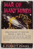 Books:Science Fiction & Fantasy, E. Everett Evans. INSCRIBED. Man of Many Minds. Reading: Fantasy Press, [1953]. First edition, first printing. Sig...