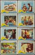 """Movie Posters:Adventure, Boy on a Dolphin (20th Century Fox, 1957). Lobby Card Set of 8,Title Lobby Cards (4) & Lobby Cards (17) (11"""" X 14""""). Advent...(Total: 29 Items)"""