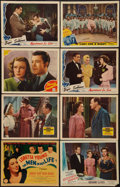 """Movie Posters:Drama, The Men in Her Life and Others Lot (Columbia, 1941). Lobby Cards(8) (11"""" X 14""""). Drama.. ... (Total: 8 Items)"""