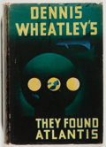 Books:Science Fiction & Fantasy, Dennis Wheatley. SIGNED. They Found Atlantis. London:Hutchinson, [ca. 1936]. Presumed first edition, first printing...