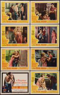 "A Streetcar Named Desire (20th Century Fox, R-1958). Lobby Card Set of 8 (11"" X 14""). Drama. ... (Total: 8 Ite..."