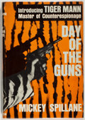 Books:Mystery & Detective Fiction, Mickey Spillane. SIGNED. Day of the Guns. New York: Dutton, 1964. First edition, first printing. Signed by Spi...