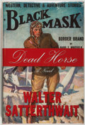 Books:Mystery & Detective Fiction, Walter Satterthwait. SIGNED. Dead Horse. [Tucson]: DennisMcMillan, 2006. First edition, first printing. Signe...