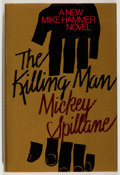 Books:Mystery & Detective Fiction, Mickey Spillane. SIGNED. The Killing Man. New York: Dutton,[1989]. First edition, first printing. Signed by S...
