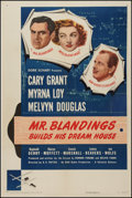 """Movie Posters:Comedy, Mr. Blandings Builds His Dream House (RKO, 1948). One Sheet (27"""" X41""""). Comedy.. ..."""