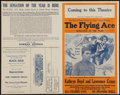 """Movie Posters:Black Films, The Flying Ace (Norman, 1926). Uncut Pressbook (4 Pages, 14"""" X 22""""). Black Films.. ..."""