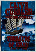 Books:Mystery & Detective Fiction, Clive Cussler and Dirk Cussler. SIGNED. Treasure of Khan.New York: Putnam, [2006]. First edition, first printing. ...