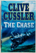 Books:Mystery & Detective Fiction, Clive Cussler. SIGNED. The Chase. New York: Putnam, [2007].First edition, first printing. Signed by Cussler ...