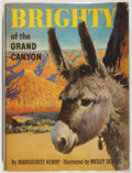 Books:Children's Books, Wesley Dennis [illustrator]. Marguerite Henry. SIGNED. Brightyof the Grand Canyon. Chicago: Rand McNally, [1953]. F...