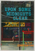 Books:Mystery & Detective Fiction, K. C. Constantine. SIGNED. Upon Some Midnights Clear.Boston: David R. Godine, [1985]. First edition, first printing...