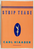 Books:Mystery & Detective Fiction, Carl Hiaasen. SIGNED. Strip Tease. New York: Knopf, 1993.First edition, first printing. Signed by Hiaasen on ti...
