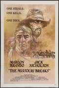 "Movie Posters:Western, The Missouri Breaks (United Artists, 1976). One Sheet (27"" X 41"") & Lobby Cards (8) (11"" X 14""). Western.. ... (Total: 9 Items)"