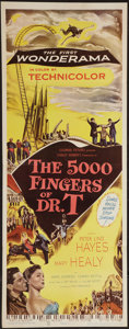 """Movie Posters:Fantasy, The 5000 Fingers of Dr. T (Columbia, 1953). Insert (14"""" X 36""""). Fantasy.. ..."""