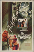 "Movie Posters:Science Fiction, The Electronic Monster (Columbia, 1960). One Sheet (27"" X 41"").Science Fiction.. ..."