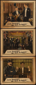 """Movie Posters:Sports, So This is Paris (Universal, 1924). Lobby Cards (3) (11"""" X 14""""). Sports.. ... (Total: 3 Items)"""