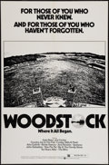 "Movie Posters:Rock and Roll, Woodstock (Warner Brothers, R-1976). One Sheet (27"" X 41""). Rockand Roll.. ..."