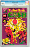 Bronze Age (1970-1979):Humor, Richie Rich Cash #1 File Copy (Harvey, 1974) CGC NM 9.4 Off-white to white pages....