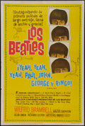 "Movie Posters:Rock and Roll, A Hard Day's Night (United Artists, 1964). Argentinean Poster (29""X 43""). Rock and Roll.. ..."