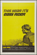 "Movie Posters:Drama, Easy Rider (Columbia, 1969). One Sheet (27"" X 41""). Style C.Drama.. ..."