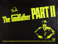 "Movie Posters:Crime, The Godfather Part II (Paramount, 1974). Day-Glo Subway (45"" X60""). Premiere. Crime.. ..."