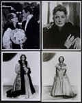 "Movie Posters:Photo, Greta Garbo (MGM, 1930s & R-1960s). Restrike Portrait Photos(3) and Photo (8"" X 10""). Miscellaneous.. ... (Total: 4 Items)"