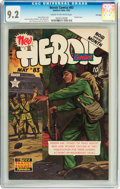 Golden Age (1938-1955):War, Heroic Comics #83 File Copy (Eastern Color, 1953) CGC NM- 9.2 Cream to off-white pages....