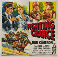 "Movie Posters:Sports, The Fighting Chance (Republic, 1955). Six Sheet (80.5"" X 81""). Sports.. ..."