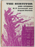 Books:Horror & Supernatural, H. P. Lovecraft and August Derleth. The Survivor and Others.Sauk City: Arkham House, 1957. First edition, first...