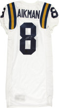 Football Collectibles:Uniforms, Troy Aikman Signed UCLA Bruins Authentic Jersey....