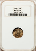 Mercury Dimes: , 1925 10C MS65 Full Bands NGC. NGC Census: (44/19). PCGS Population(88/76). Mintage: 25,610,000. Numismedia Wsl. Price for ...