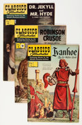 Golden Age (1938-1955):Classics Illustrated, Classics Illustrated Group (Gilberton, 1940s).... (Total: 4 Comic Books)