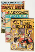 Golden Age (1938-1955):Classics Illustrated, Classics Illustrated Group (Gilberton, 1944).... (Total: 4 ComicBooks)
