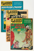 Golden Age (1938-1955):Classics Illustrated, Classics Illustrated Group (Gilberton, 1949-51) Condition: Average VG/FN.... (Total: 17 Comic Books)