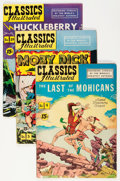 Golden Age (1938-1955):Classics Illustrated, Classics Illustrated Group (Gilberton, 1952-54) Condition: Average VG.... (Total: 13 Comic Books)