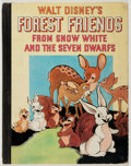 Books:Children's Books, Walt Disney. Walt Disney's Forest Friends from Snow White.New York: Grosset & Dunlap, [1938]. Presumed first editio...