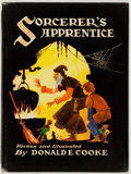 Books:Children's Books, Donald Cooke. SIGNED. Sorcerer's Apprentice. Philadelphia:Winston, [1947]. First edition, first printing. Sig...