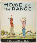 Books:Children's Books, Berta and Elmer Hader. Home on the Range. New York:Macmillan, 1955. First edition, first printing. Quarto. Publishe...