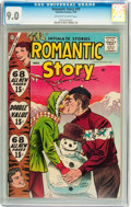Silver Age (1956-1969):Romance, Romantic Story #39 (Charlton, 1958) CGC VF/NM 9.0 Off-white towhite pages....