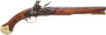 Handguns:Muzzle loading, 1760 Original Flintlock British Sea Service Pistol....